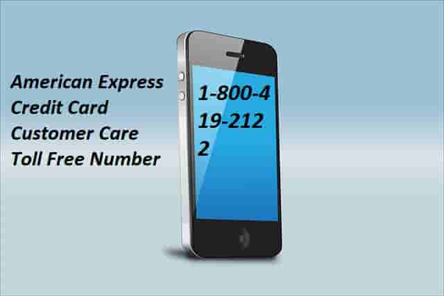 American Express Credit Card Toll Free Number