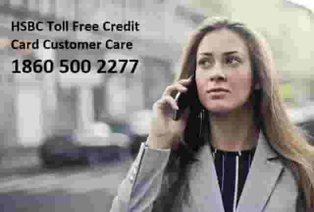 HSBC Bank credit card customer care number