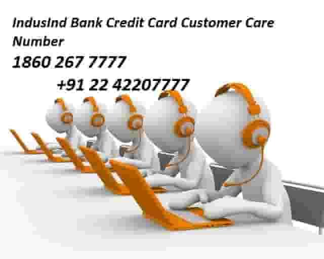 IndusInd Bank Credit Card Customer Care Number