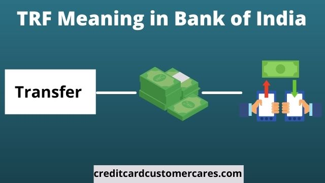 TRF Meaning in Bank of India