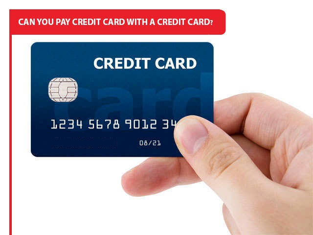 Credit Card with a Credit Card